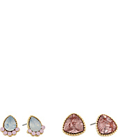 Jessica Simpson - Peachy Keen Duo Stone Earrings