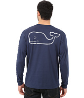 Vineyard Vines - L/S Graphic Vintage Whale T-Shirt