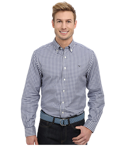 Check out cheap vineyard vines roton point gingham slim for Cheap slim fit shirts