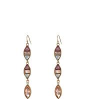Jessica Simpson - Peachy Keen Stone Linear Earrings