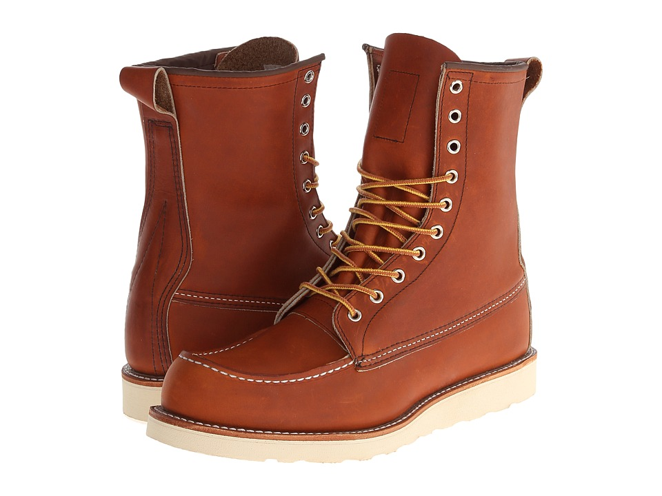 Red Wing Heritage 8 Moc Toe Oro Legacy Mens Boots
