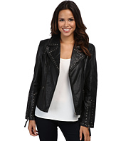 Scully - Francesca Eagle Studded Moto Jacket