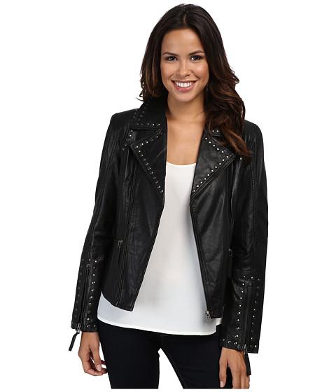 Scully Francesca Eagle Studded Moto Jacket