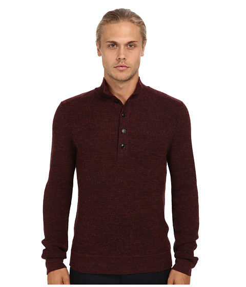 Theory Mens Byron WS Fiador Dark Rouse - Sweaters