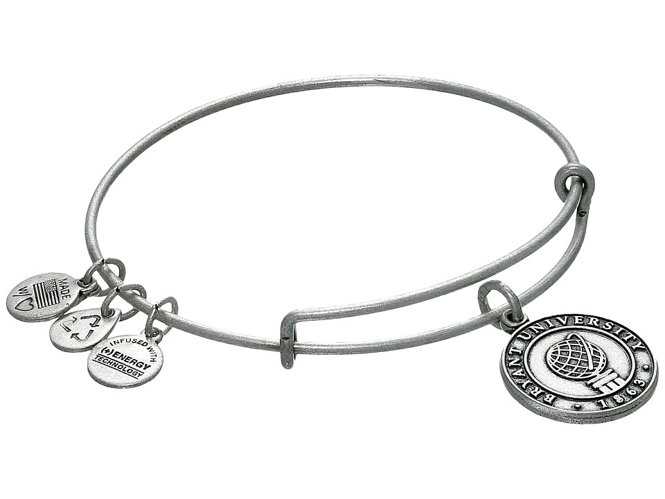 Alex and Ani - Bryant University Logo Charm Bangle