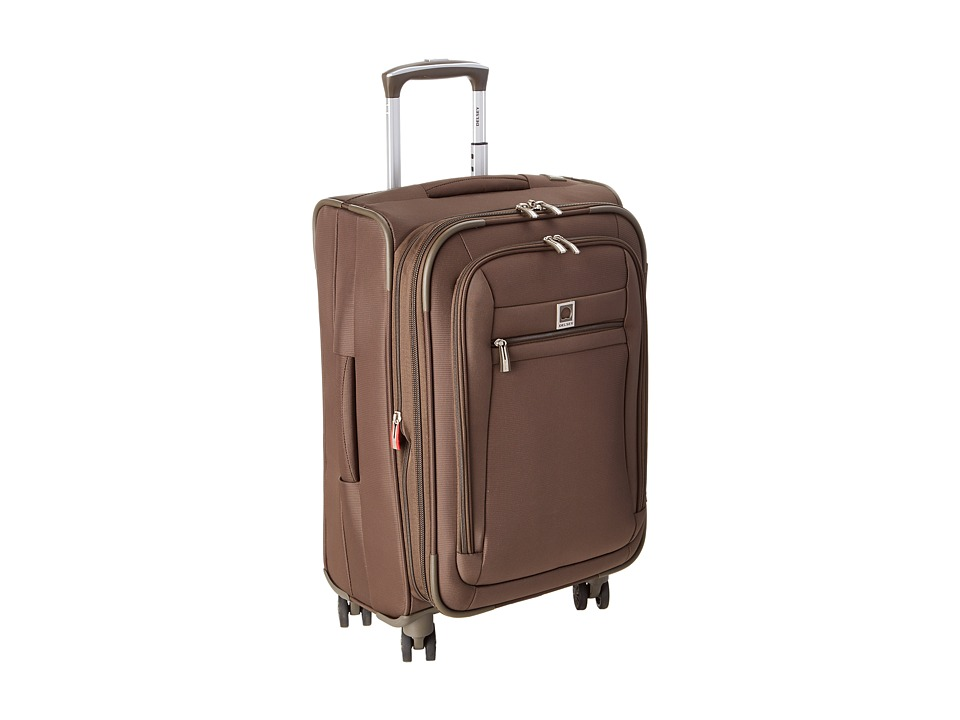 Delsey Carry On Exp. Spinner Trolley Mocha Carry on Luggage