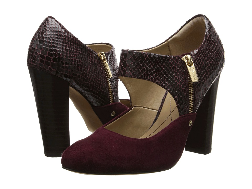 Isola Tace (Bordo Red King Suede/Snake Print) Women's Shoes