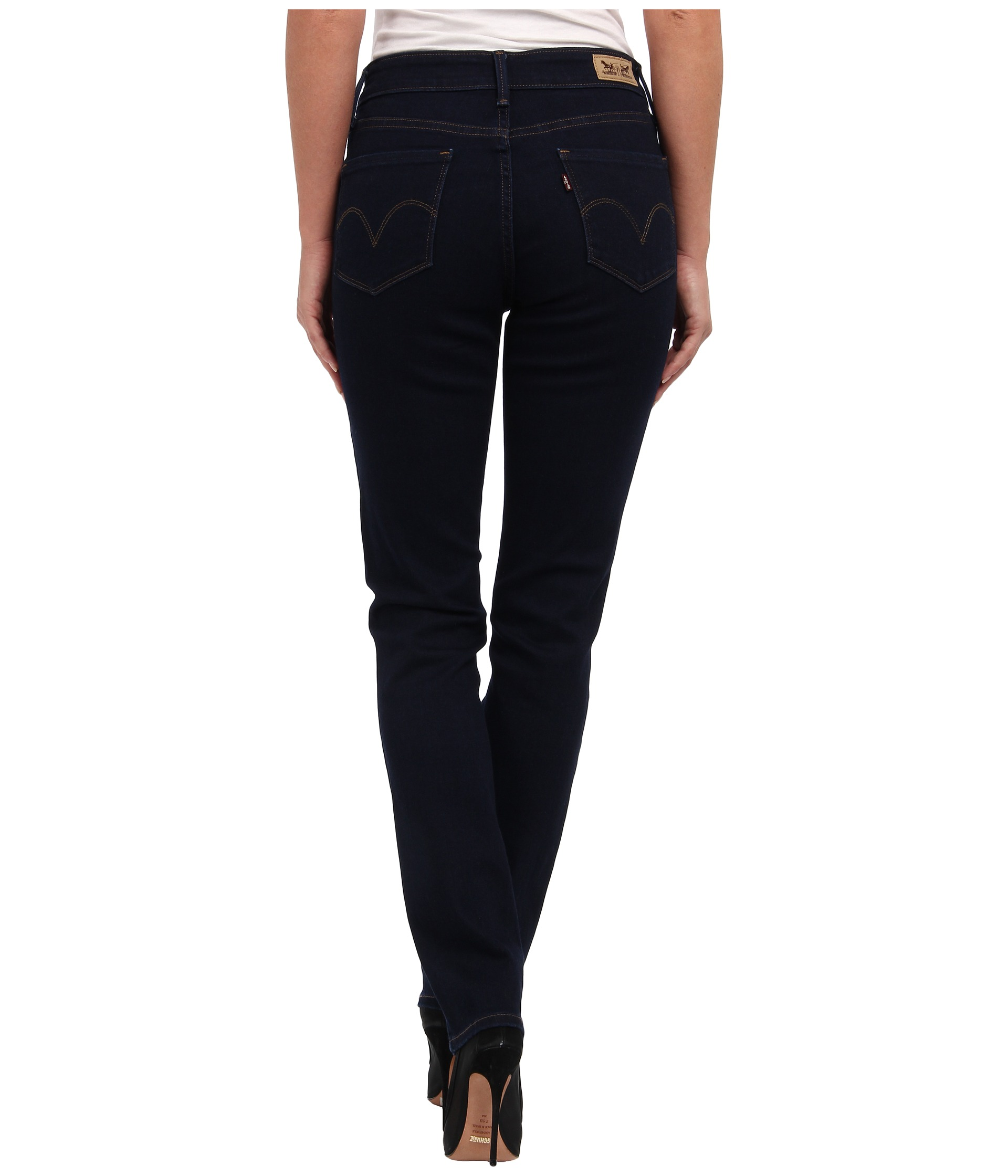 levi 39 s womens mid rise skinny jean at. Black Bedroom Furniture Sets. Home Design Ideas