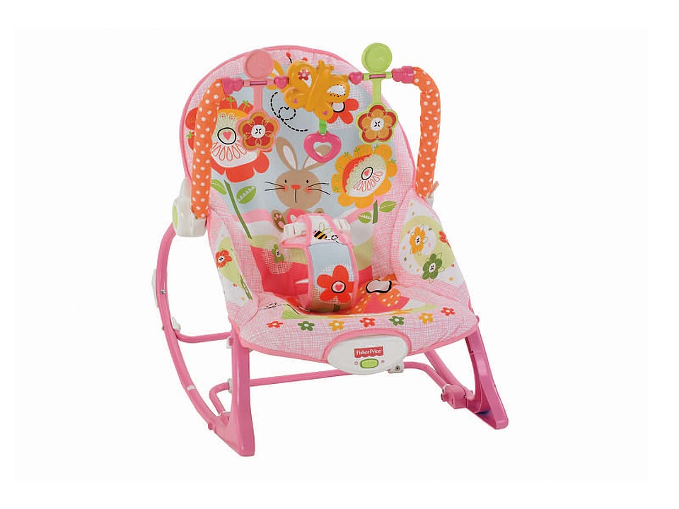 Fisher Price Infant to Toddler Rocker Bunny Strollers Travel