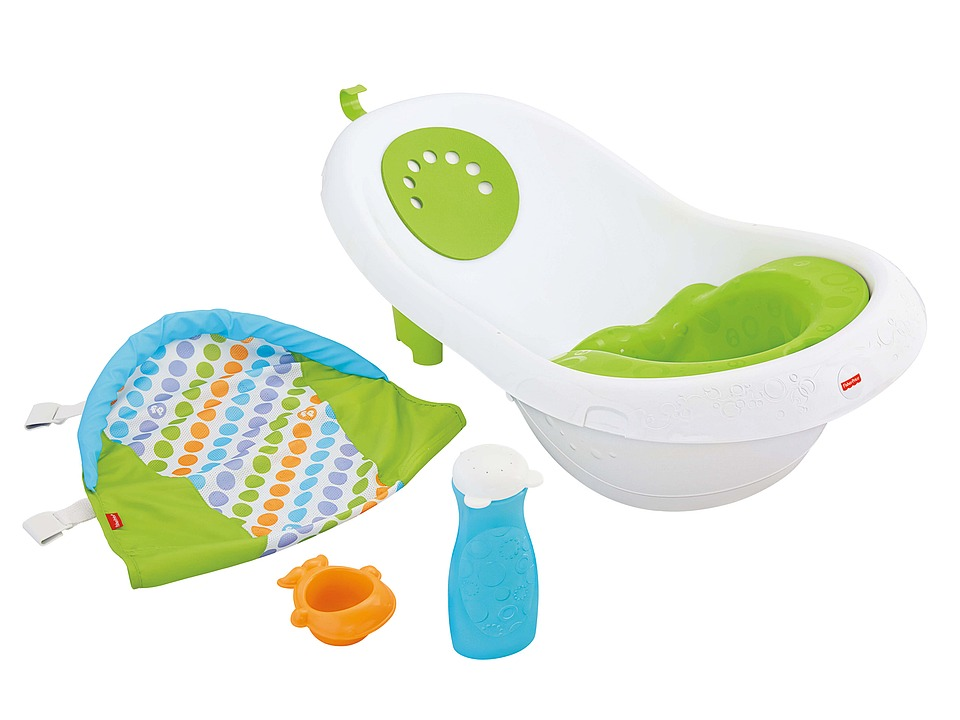 Fisher Price - 4-in-1 Sling 'n Seat Tub (Green Multi) Strollers Travel
