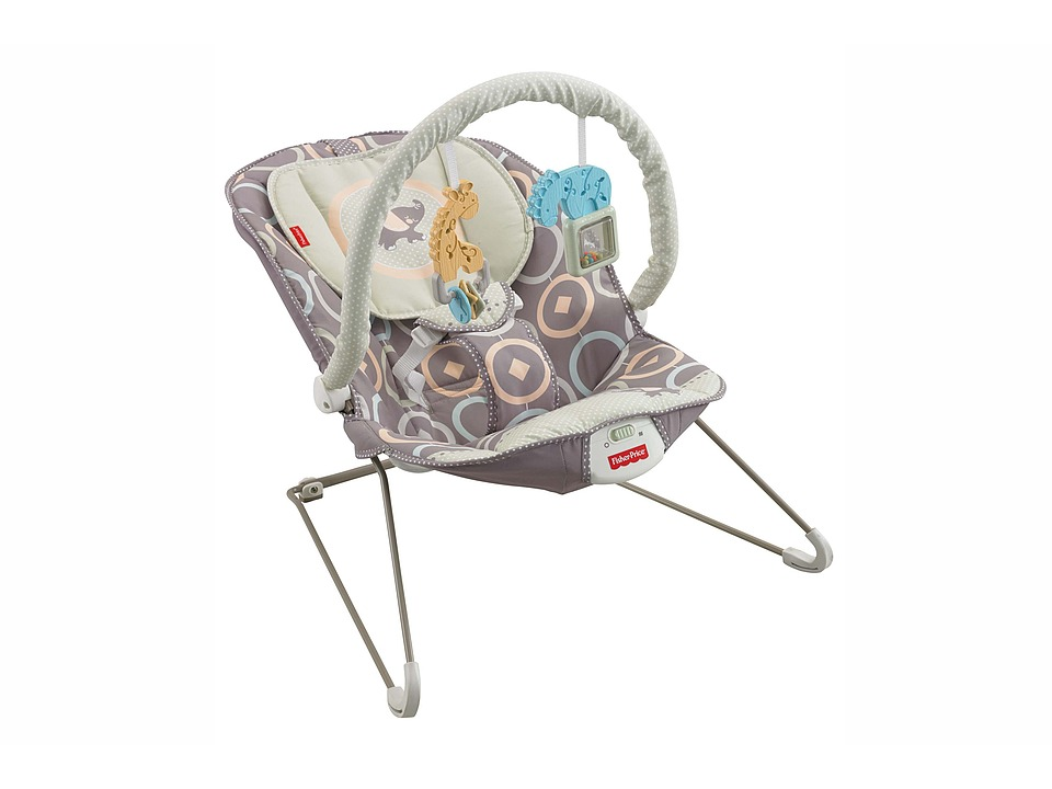 Fisher Price - Baby Bouncer - Luminosity (Multi) Strollers Travel