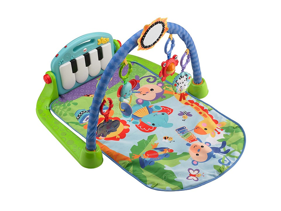 Fisher Price - Kick Play Piano Gym (Multi) Strollers Travel