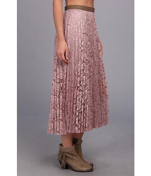 search free pretty pleats maxi skirt