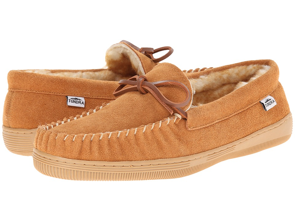Tundra Boots Westford Tan Mens Slip on Shoes