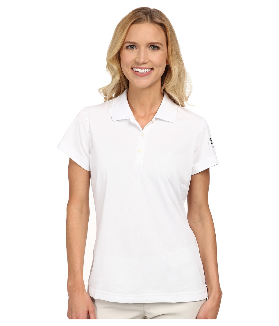 Zappos.com Gear Zappos.com Polo White Womens Short Sleeve Pullover