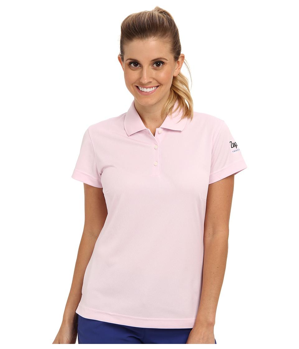 Zappos.com Gear Zappos.com Polo Light Pink Womens Short Sleeve Pullover
