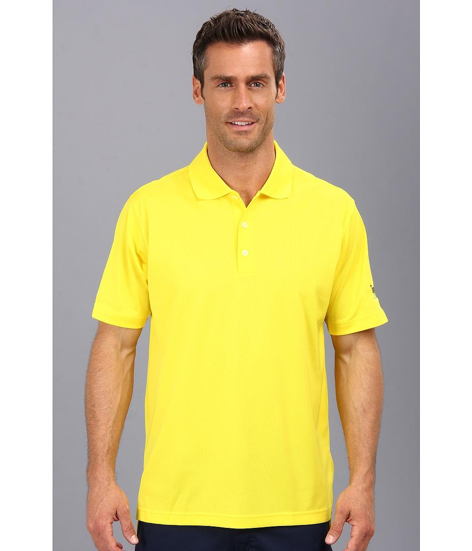 Zappos.com Gear Zappos.com Polo Yellow Mens Short Sleeve Pullover