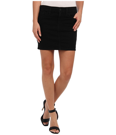 Levis Juniors Mini Skirt Worn In Black | Shipped Free at Zappos