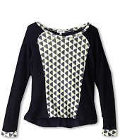 Splendid Littles - Geo Print L/S Top (Big Kids)