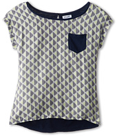Splendid Littles - Geo Print S/S Top (Big Kids)