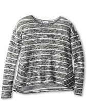 Splendid Littles - Yarn Mix Loose Knit Top L/S (Big Kids)
