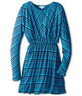 Splendid Littles - Aster Stripe L/S Dress (Big Kids)