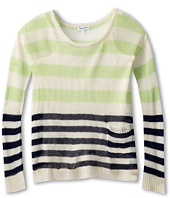 Splendid Littles - Stripe Loose Knit L/S Top And Cami (Big Kids)