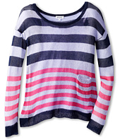 Splendid Littles - Stripe Loose Knit L/S Top And Cami (Big Kids)