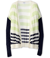 Splendid Littles - Stripe Loose Knit Cardigan (Big Kids)