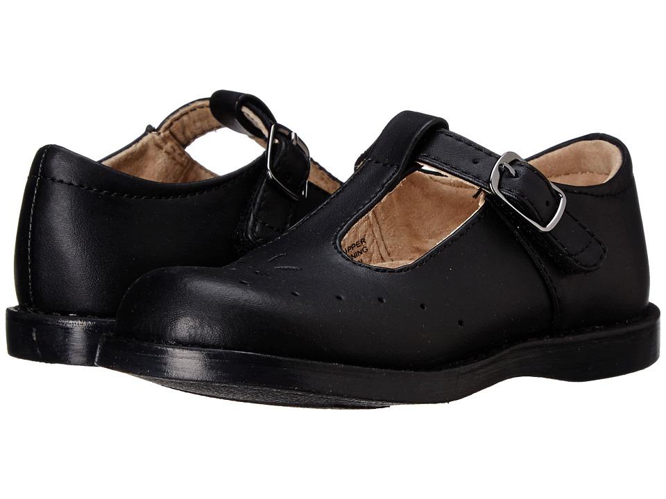 FootMates - Sherry 2 (Toddler/Little Kid) (Black) Girls Shoes
