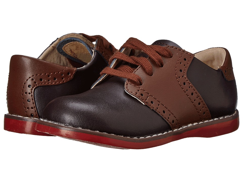 FootMates Connor 2 Toddler/Little Kid Brown/Taffy Boys Shoes