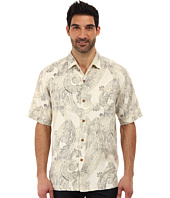 Tommy Bahama - Paisley Pipeline S/S Camp Shirt