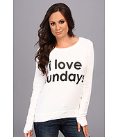Peace Love World - I Love Sundays Comfy