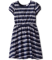 Splendid Littles - Scallop Stripe S/S Dress (Little Kids)
