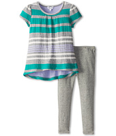 Splendid Littles - Multi Double Stripe S/S Set (Toddler)