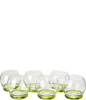 10 Strawberry Street - Bell Glasses Set of 6
