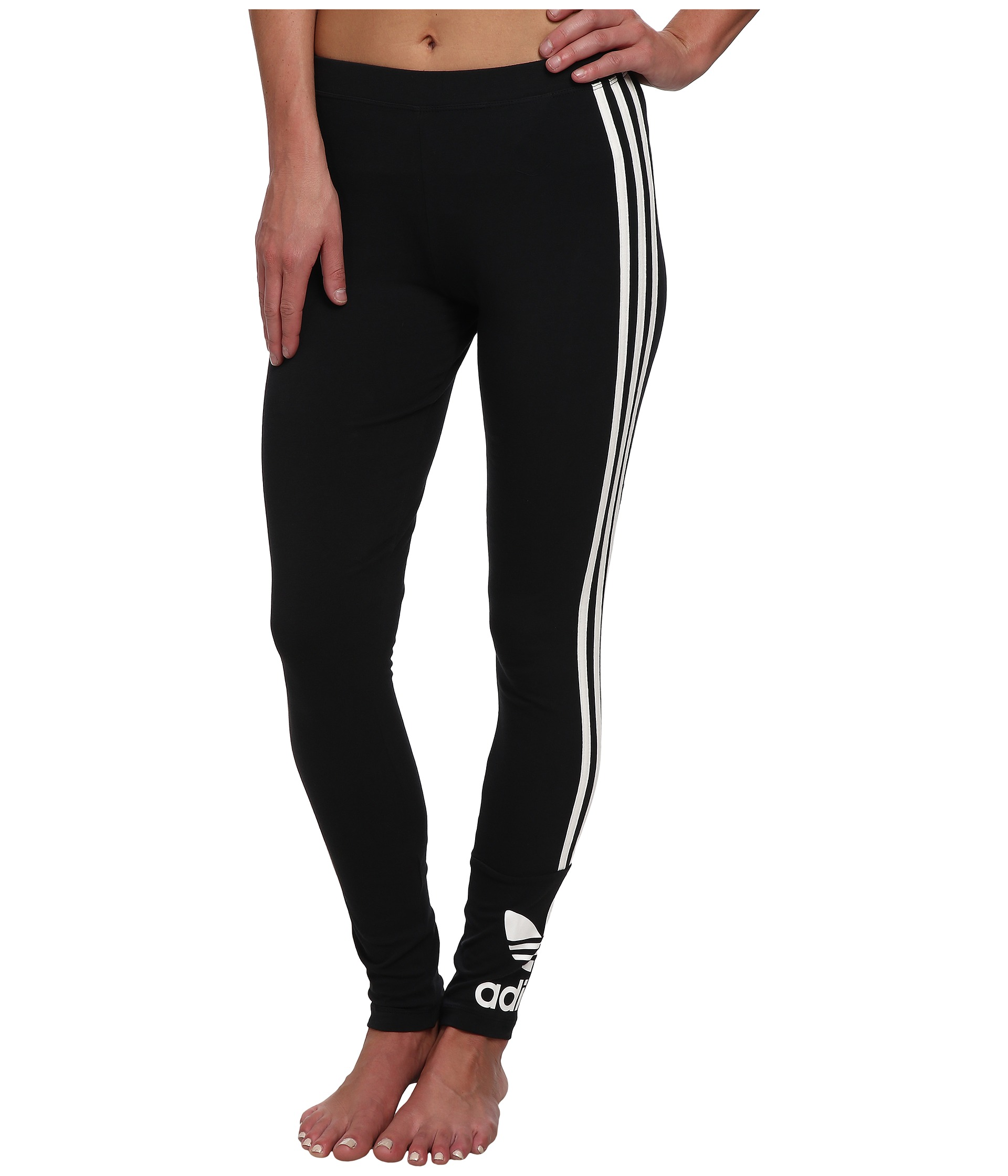 Adidas Originals Trefoil Leggings - Zappos.com Free Shipping BOTH Ways