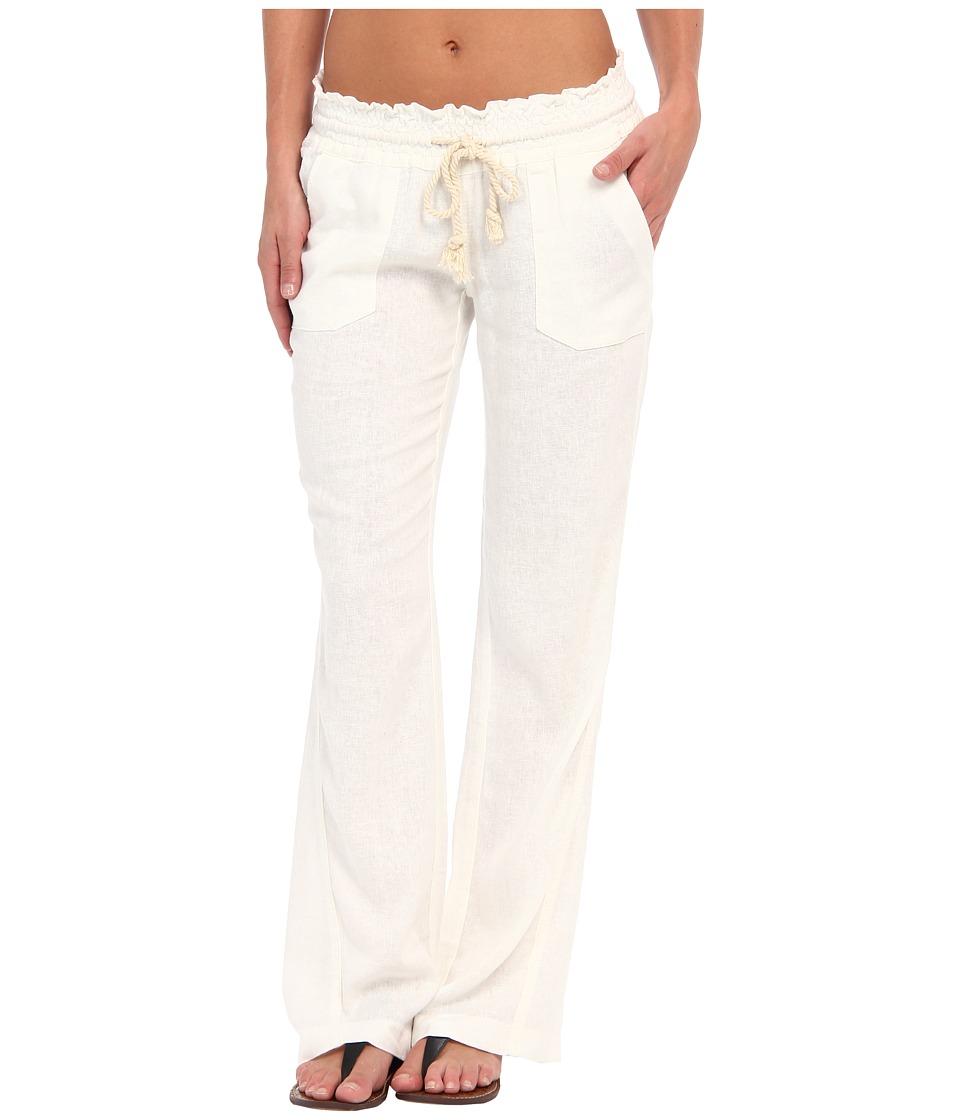 Roxy Ocean Side Pant Sea Salt Womens Casual Pants