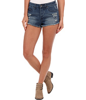 Roxy - Smeaton High Waist Dark Destroy Short