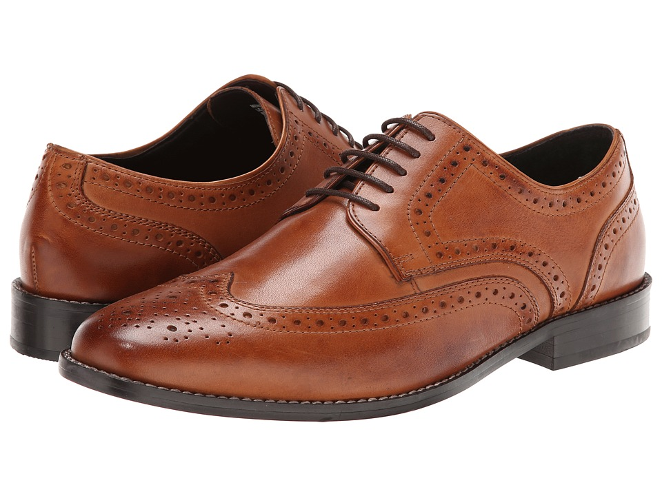Nunn Bush Nelson Wingtip Oxford (Cognac) Men