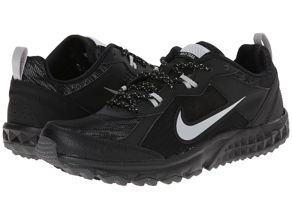 Nike Wild Trail Flash (Black/Metallic Silver/Metallic Dark Grey/Dark Grey) Women's Running Shoes