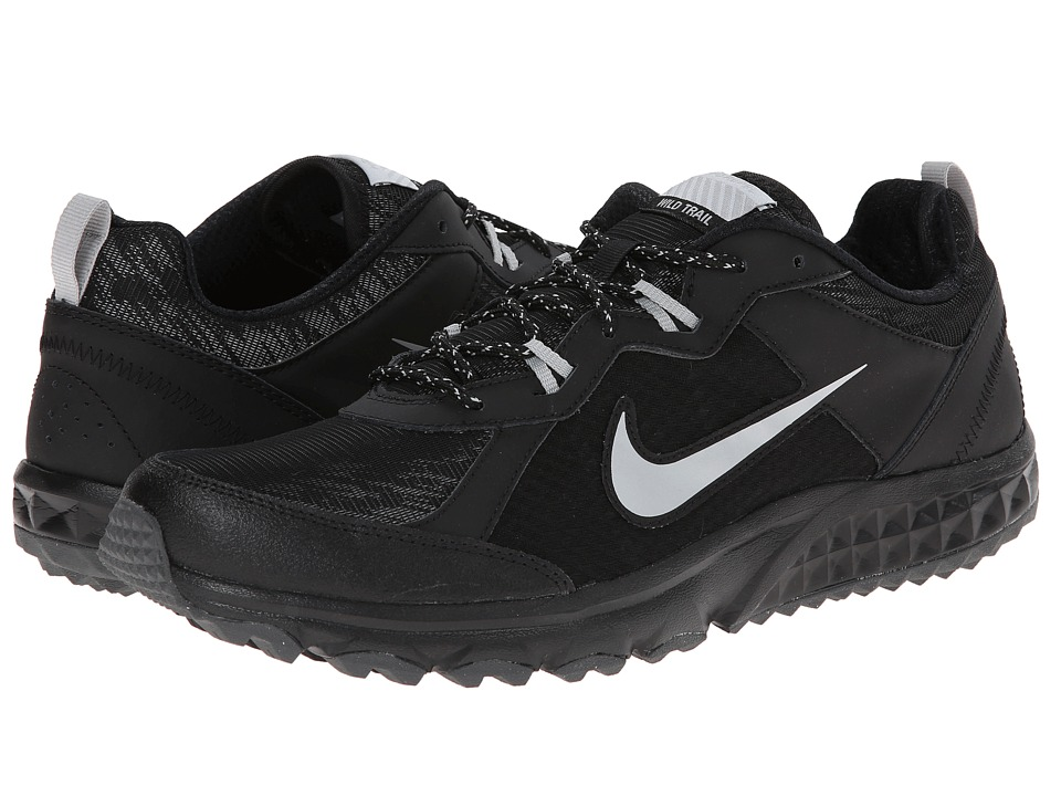 Nike Wild Trail Flash (Black/Metallic Silver/Metallic Dark Grey/Dark Grey) Men's Running Shoes