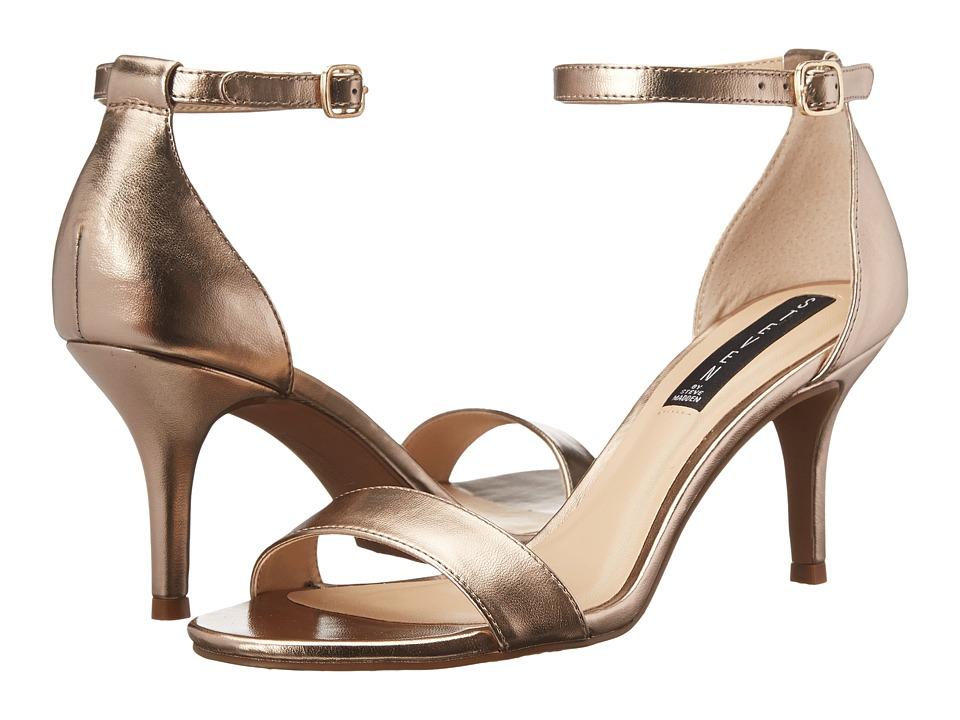 Steven Viienna (Gold) High Heels