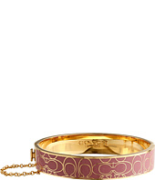 COACH - Signature Mtl Enamel H Bangle