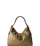 COACH - Madison Leather Triple Turnlock Shoulder Bag