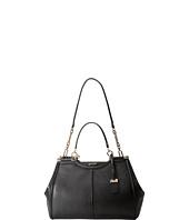 COACH - Madison Textured Leather Caroline Satchel