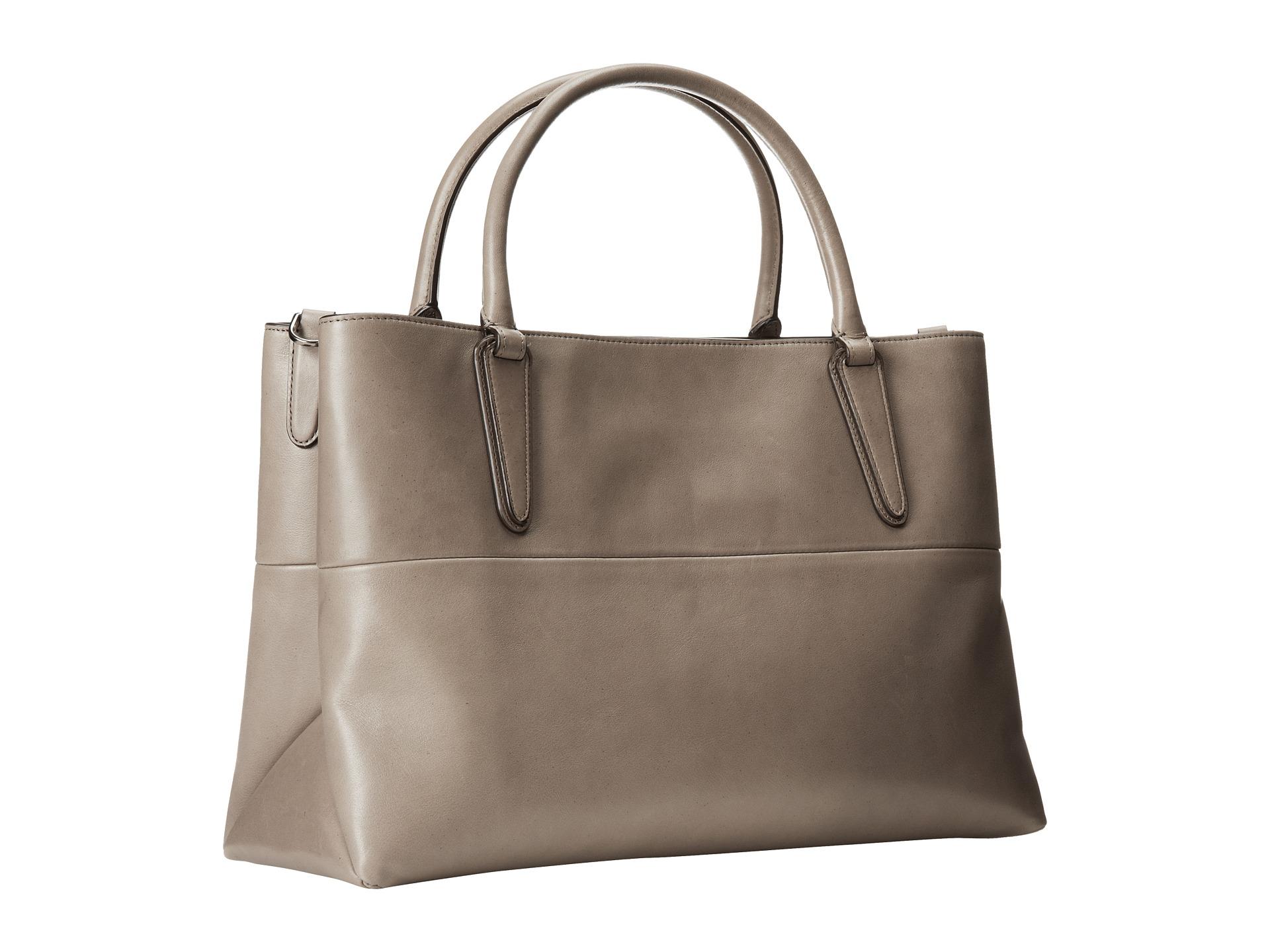 coach soft borough bag nappa leather shipped free at zappos