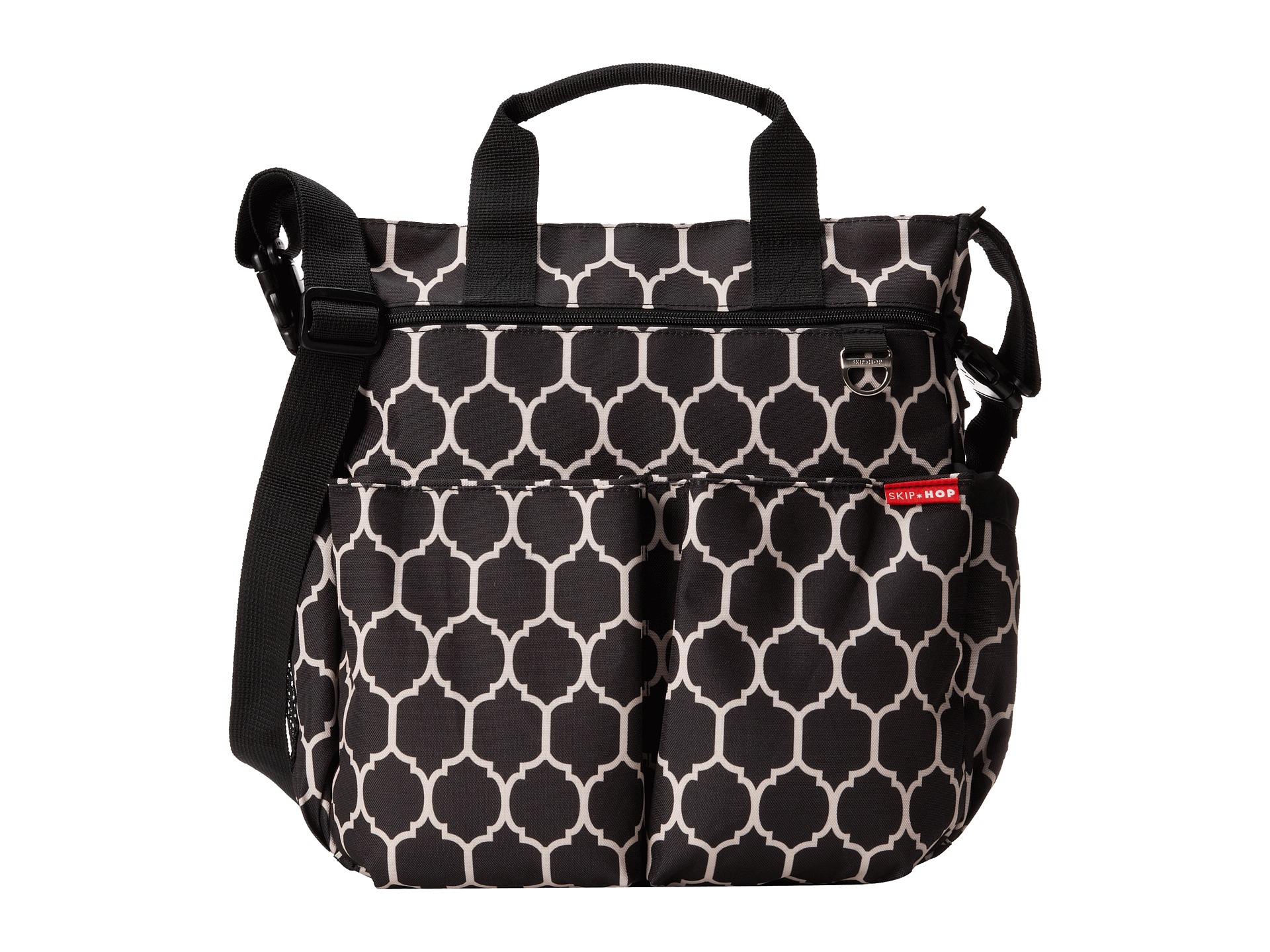 skip hop duo signature diaper bag free shipping both ways. Black Bedroom Furniture Sets. Home Design Ideas