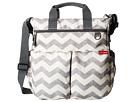 Skip Hop Duo Signature Diaper Bag (Chevron/Grey/Off White)
