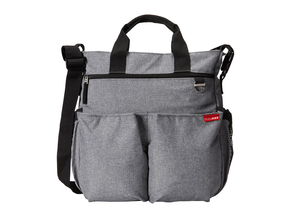 Skip Hop Duo Signature Diaper Bag Heather Grey Diaper Bags